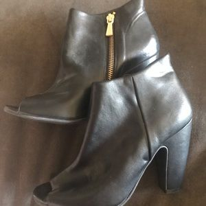 Abound peep toe ankle booties